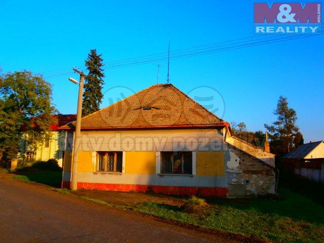 Prodej, rodinný dům 3+1, 120 m2, Lkáň