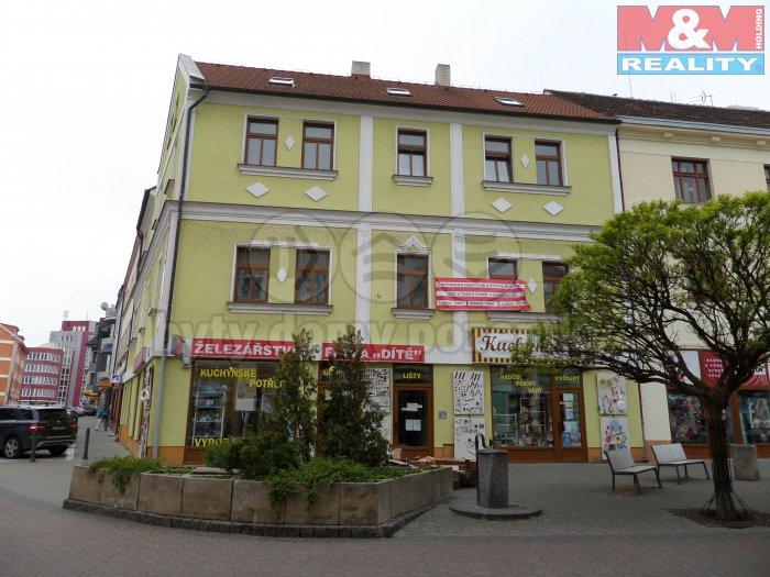 Pronájem, kanceláře, 43 m2, Kladno, ul. T. G. Masaryka