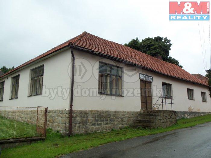 Prodej, komerční prostory, 400 m2, Horní Cerekev - Těšenov