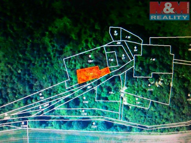 Prodej, stavební pozemek, 333 m2, Hrádek u Loun