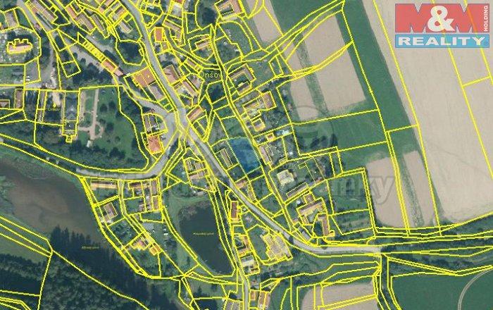 Prodej, zahrada, 1041 m2, Onšov