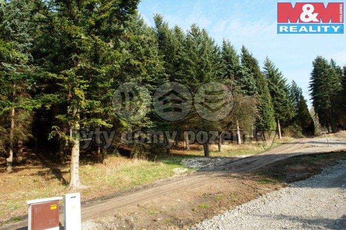 Prodej, stavební pozemek, 1346 m2, Nový Bor, Arnultovice