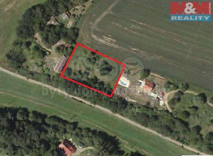 Prodej, pozemek 2850 m2, Zahrádky - Šváby