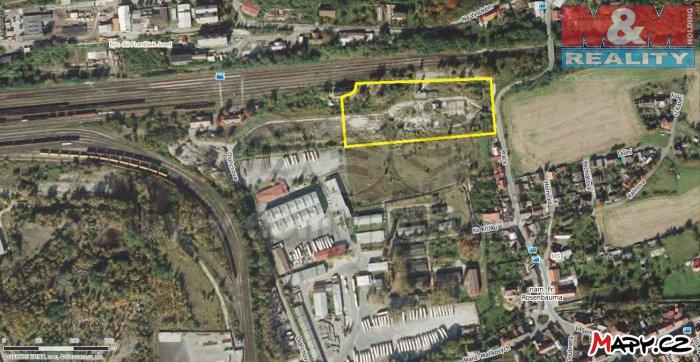 Prodej, komerční pozemek, 10050 m2, Kladno - Dubí