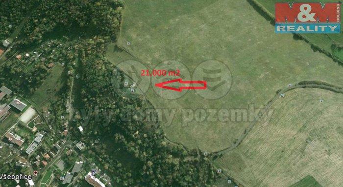 Prodej, louka, 21000 m2, Všebořice