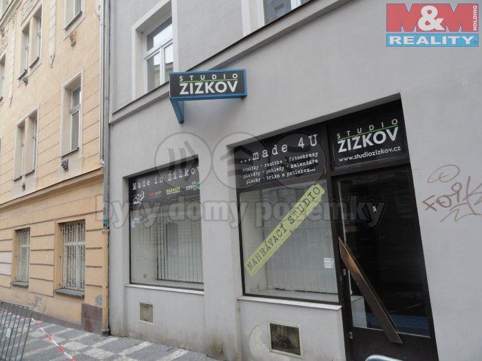 Pronájem, obchodní prostory, 465 m2, Praha - Žižkov