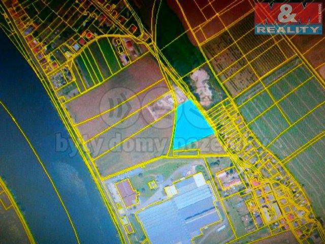 Prodej, stavební parcela, 6325 m2, Křešice