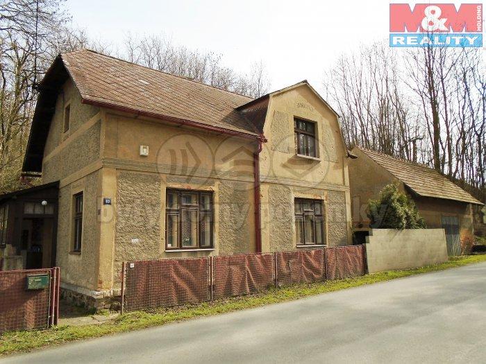 Prodej, rodinný dům 2+1, 90 m2, Panoší Újezd