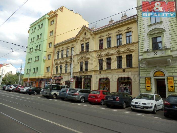 Prodej, obchodní prostor s pozemkem, 385 m2, Praha 8 - Libeň