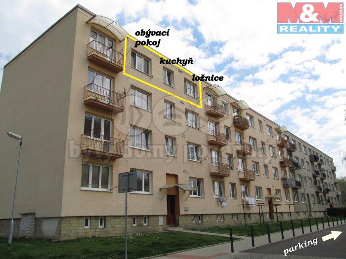 Prodej, byt 2+1, Lovosice, ul. Sady pionýrů