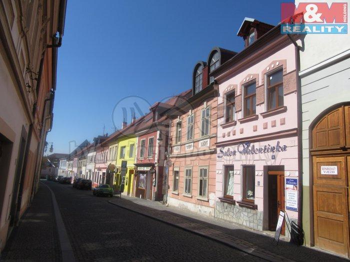 Prodej, komerční dům 360m2, Česká Lípa, ul. Zámecká