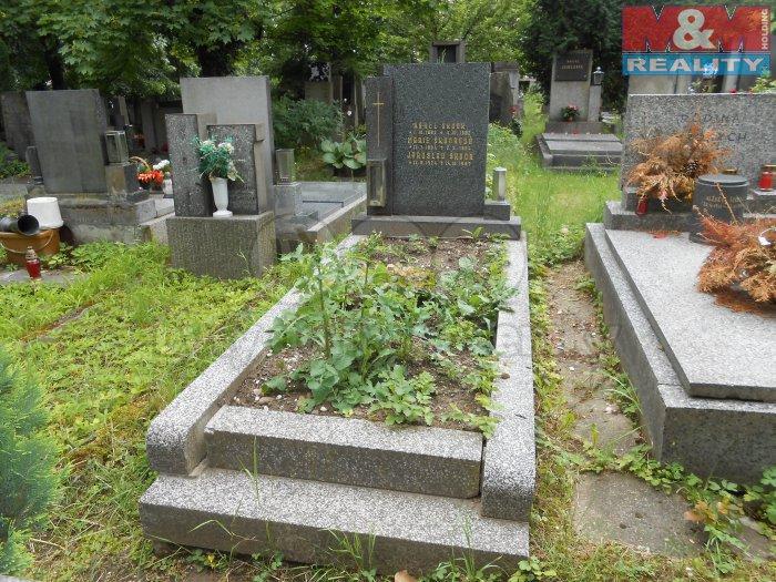 Prodej, hrob, Vinohradský hřbitov, Praha 10