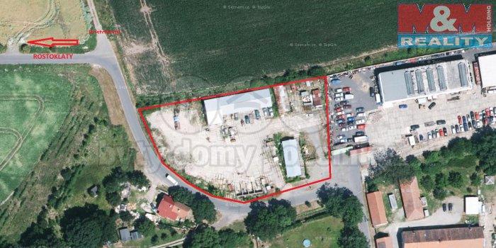 Prodej, provozní plochy, 5565 m2, Rostoklaty