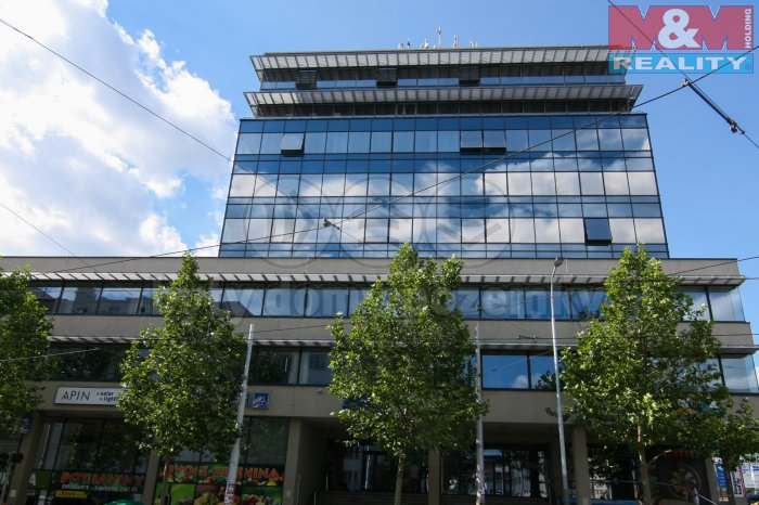 Pronájem, kancelářské prostory, 600 m2, Praha 3