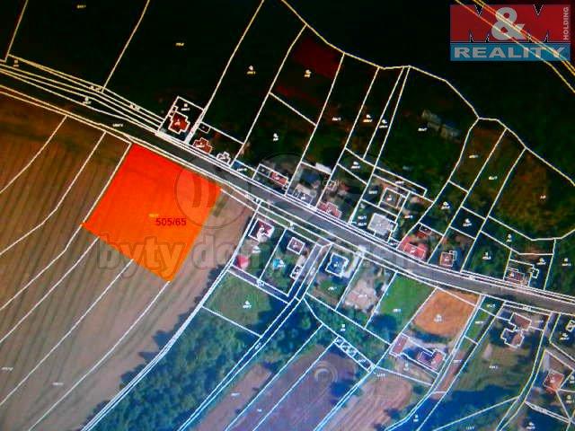 Prodej, stavební parcela, 4874 m2, Brozany nad Ohří