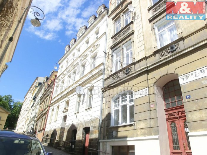Prodej, byt 2+kk, 52 m2, Ondřejská ulice, Karlovy Vary