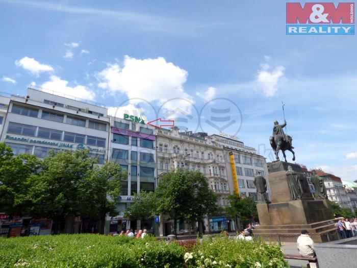 Pronájem, obchodní prostory, 274 m2, Praha, Václavské nám.