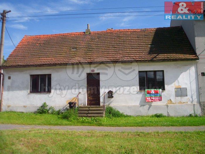 Prodej, rodinný dům 2+1, 95 m2, Čistá