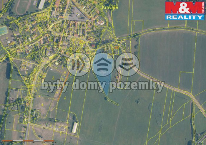 Prodej, pozemek, 12 760 m2, Kravaře v Čechách
