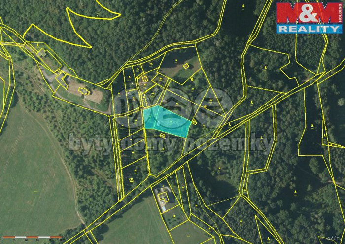 Prodej, stavební pozemek, 2 816 m2, Česká Lípa