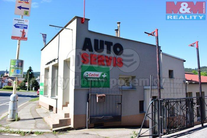 Prodej, autoservis, Ústí nad Orlicí