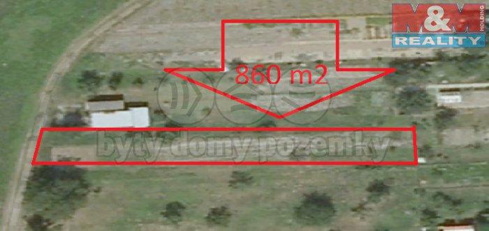 Prodej, zahrada, 860 m2, Chropyně