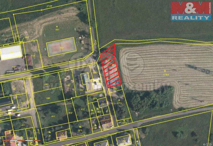 Prodej, stavební pozemek, 821 m2, Hora Svatého Šebestiána