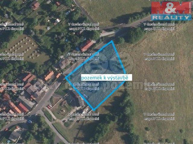Prodej, stavební pozemek, 4453m2, Ústí nad Labem - Chuderov