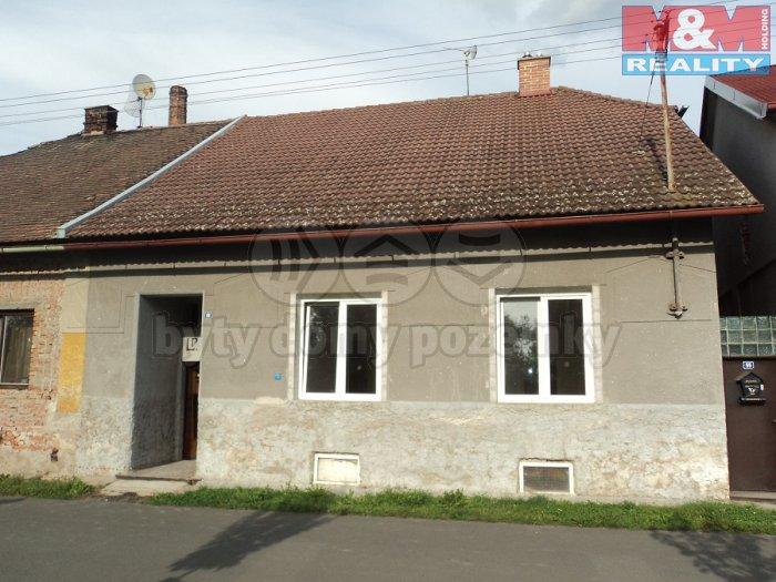 Prodej, rodinný dům 3+1, Močovice