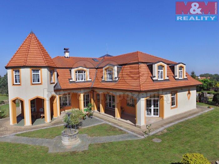 Prodej, vila, 4343 m2, Říčany