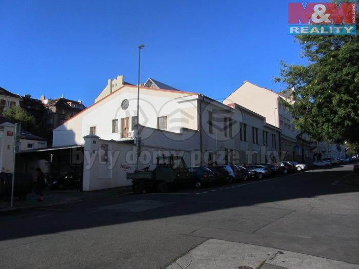 Pronájem, sklad, 150 m2, Praha 5 - Smíchov, U Nikolajky