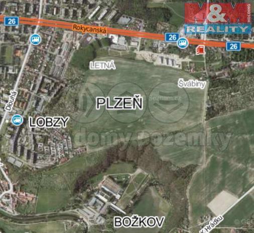 Prodej, pole, 33459 m2, Plzeň