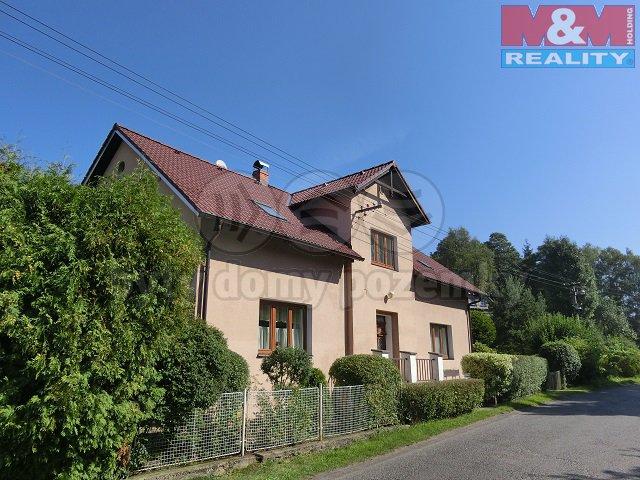 Prodej, rodinný dům 6+1, 999 m2, Dolní Chřibská