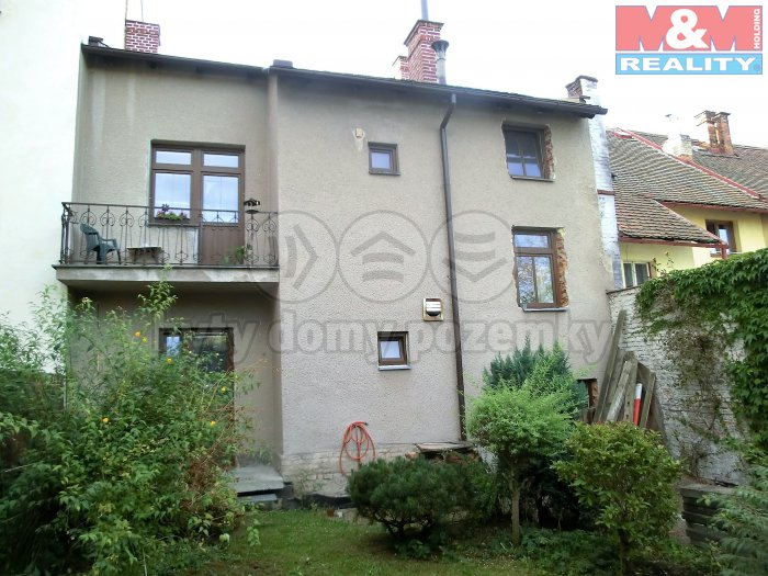 Prodej, bytový dům, 191 m2, Pardubice - centrum