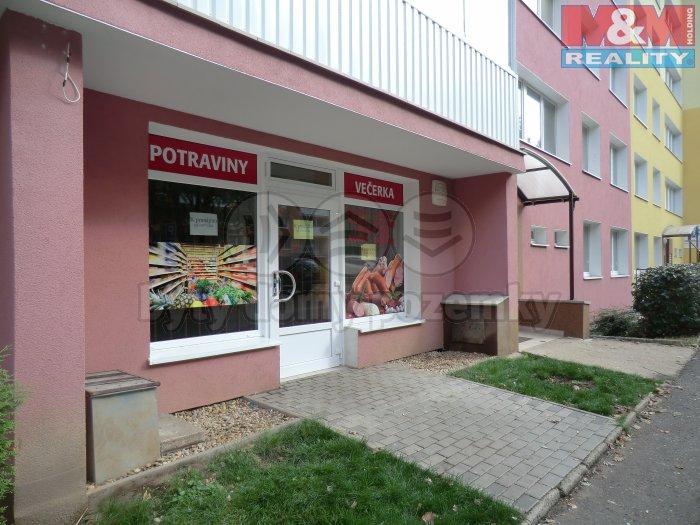 Prodej, nebytový prostor, 55 m2, OV, Most, ul. Jana Kubelíka