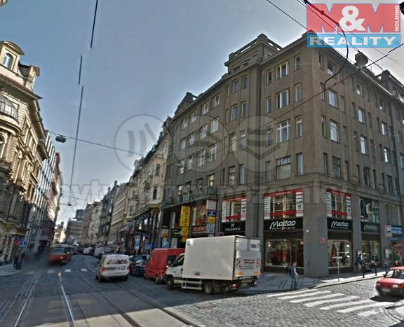 Pronájem, obchodní prostory, 39 m2, Praha 1, ul. Vodičkova
