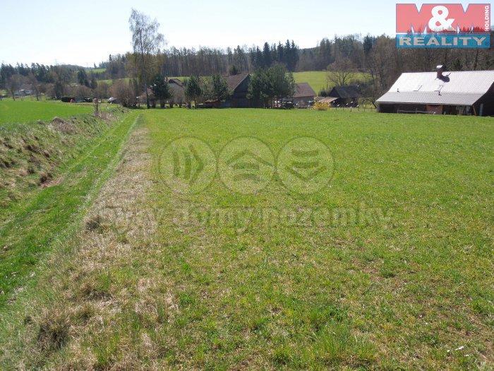 Prodej, stavební pozemek, 1800 m2, Levínská Olešnice