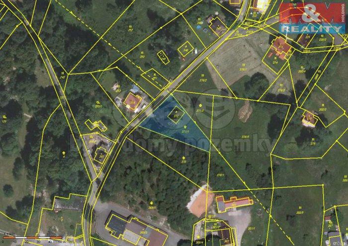 Prodej, stavební pozemek, 1312 m2, Nová Ves nad Nisou