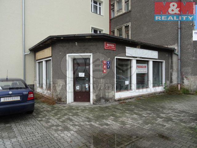 Pronájem, obchodní prostory, 89,5 m2, Ústí nad Labem