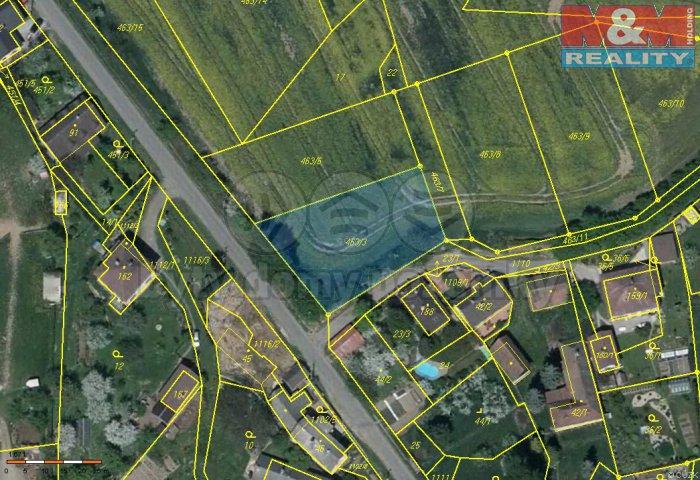 Prodej, pozemek, 1053 m2, Budíkov