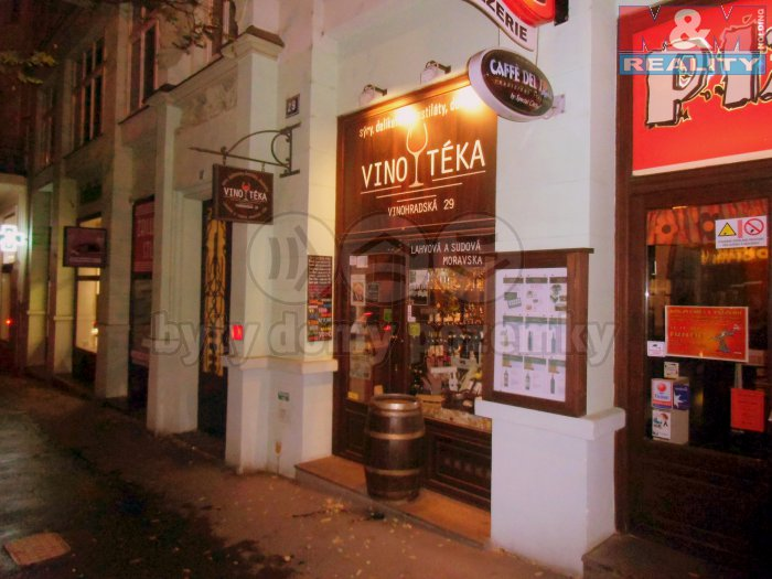 Pronájem, vinotéka, 20 m2, Praha 2 - Vinohrady