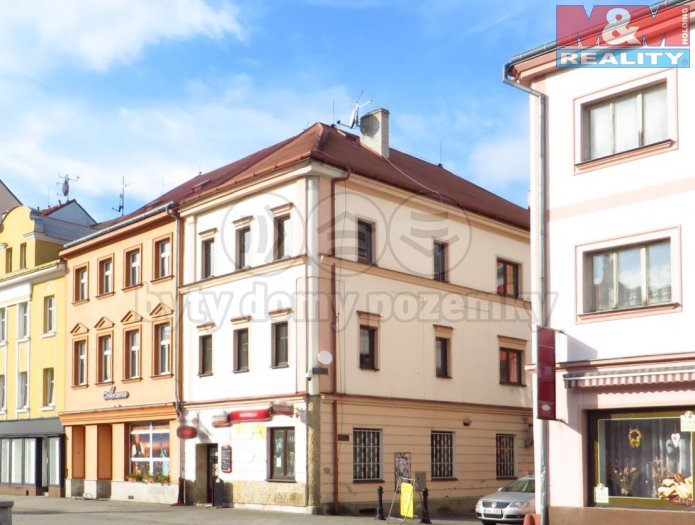 Prodej, komerčního objektu, 258 m2, Sokolov, St.náměstí