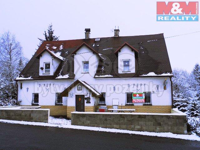 Prodej, restaurace, 4+1, OV, 911 m2, Krupka - Fojtovice