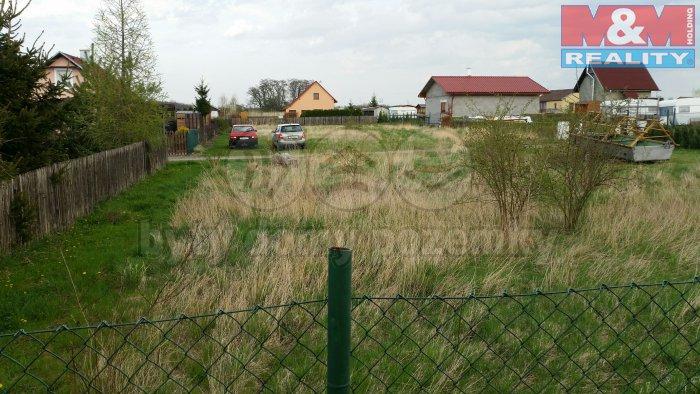 Prodej, stavební parcela, 477 m2, Chbany