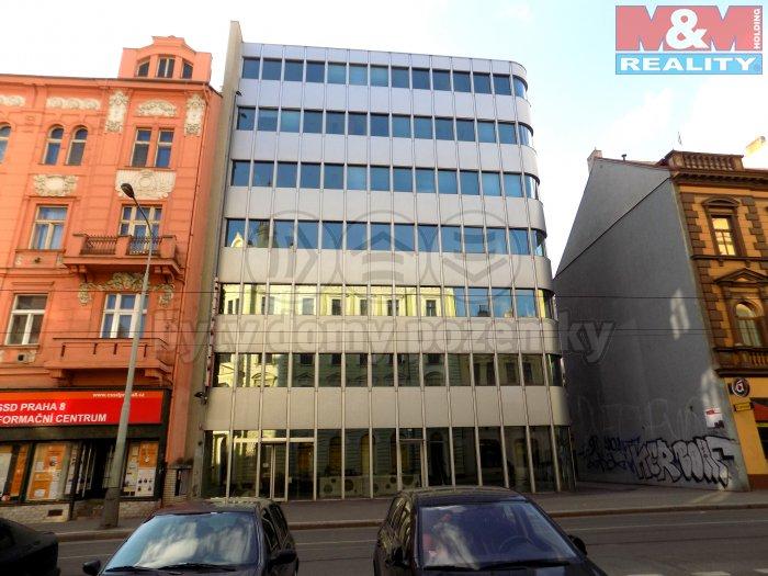 Pronájem, kancelářské prostory, 1761 m2, Praha 8 - Libeň