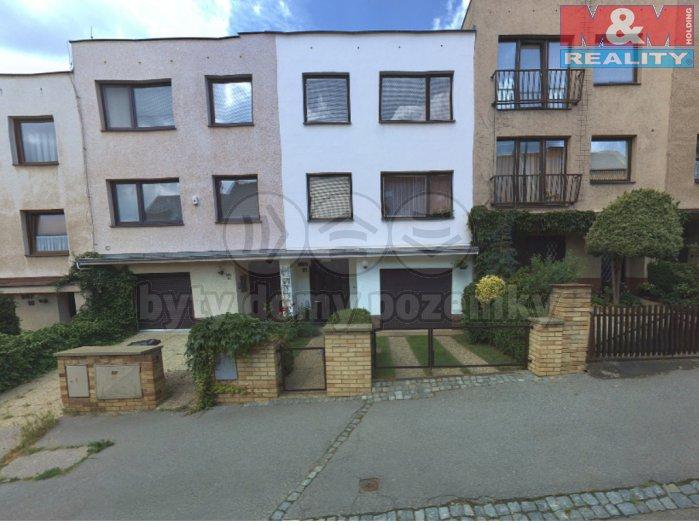 Pronájem, rodinný dům 277 m2, Praha 6, pozemek 246 m2