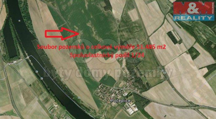 Prodej, pole, 2145 m2, Počeplice