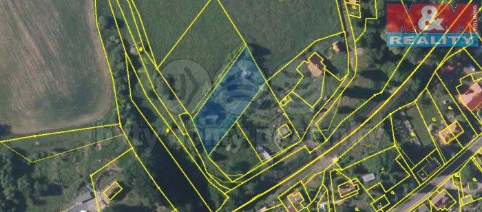 Prodej, pozemek 1765 m2, Dolní Habartice