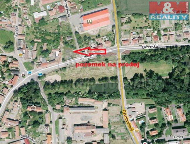Prodej, stavební parcela, 903 m2, Mšené Lázně