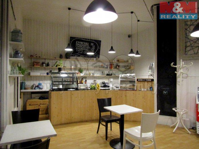 Pronájem, kavárna, 75 m2, Praha 10 - Vršovice